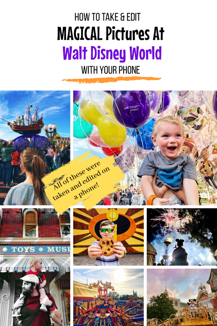 Take magical pictures at Walt Disney World with your phone!