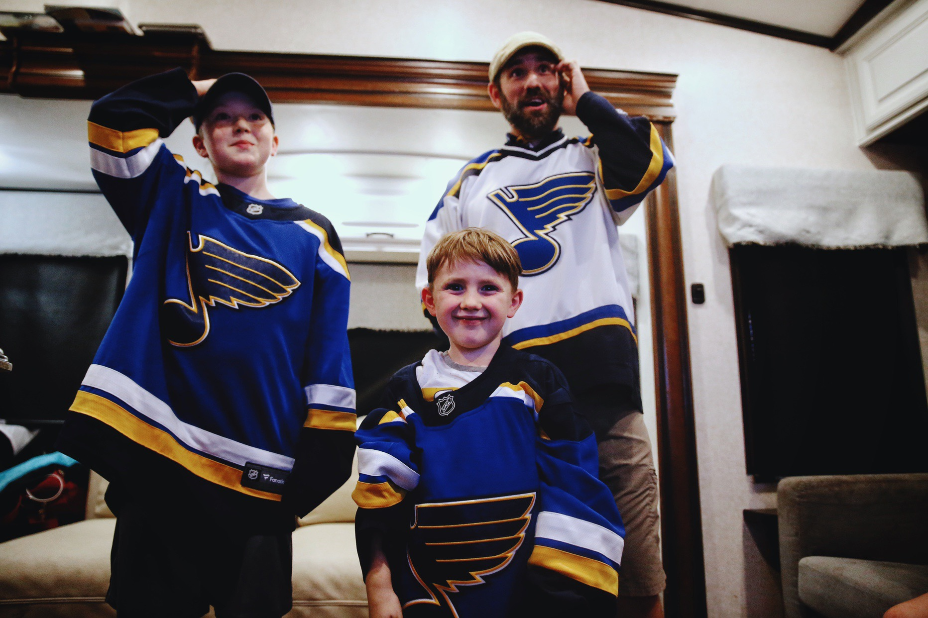 STL Blues Win! | JillKrause.com