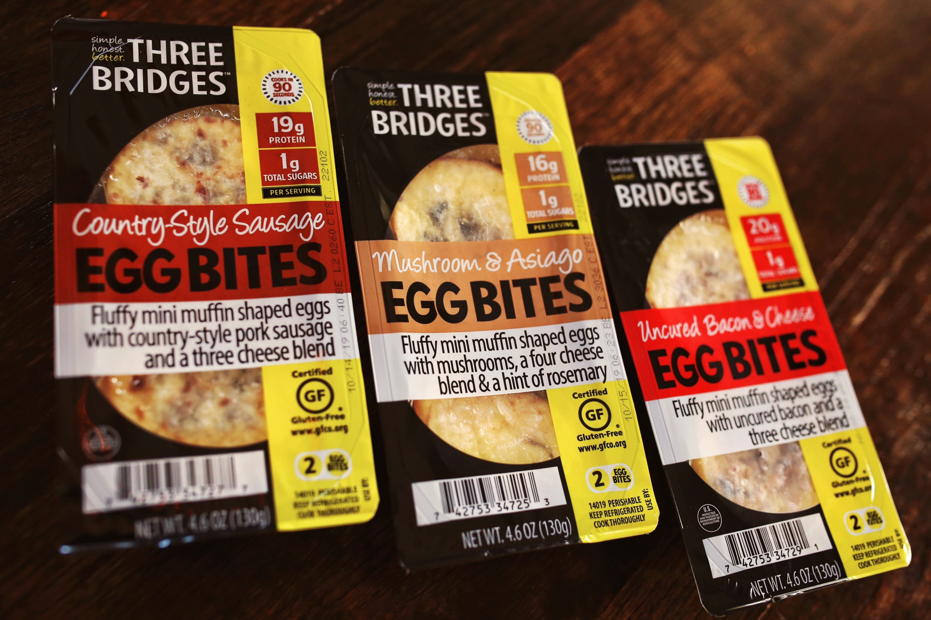 Three Bridges Egg Bites- Find Them At Your Grocer! | JillKrause.com