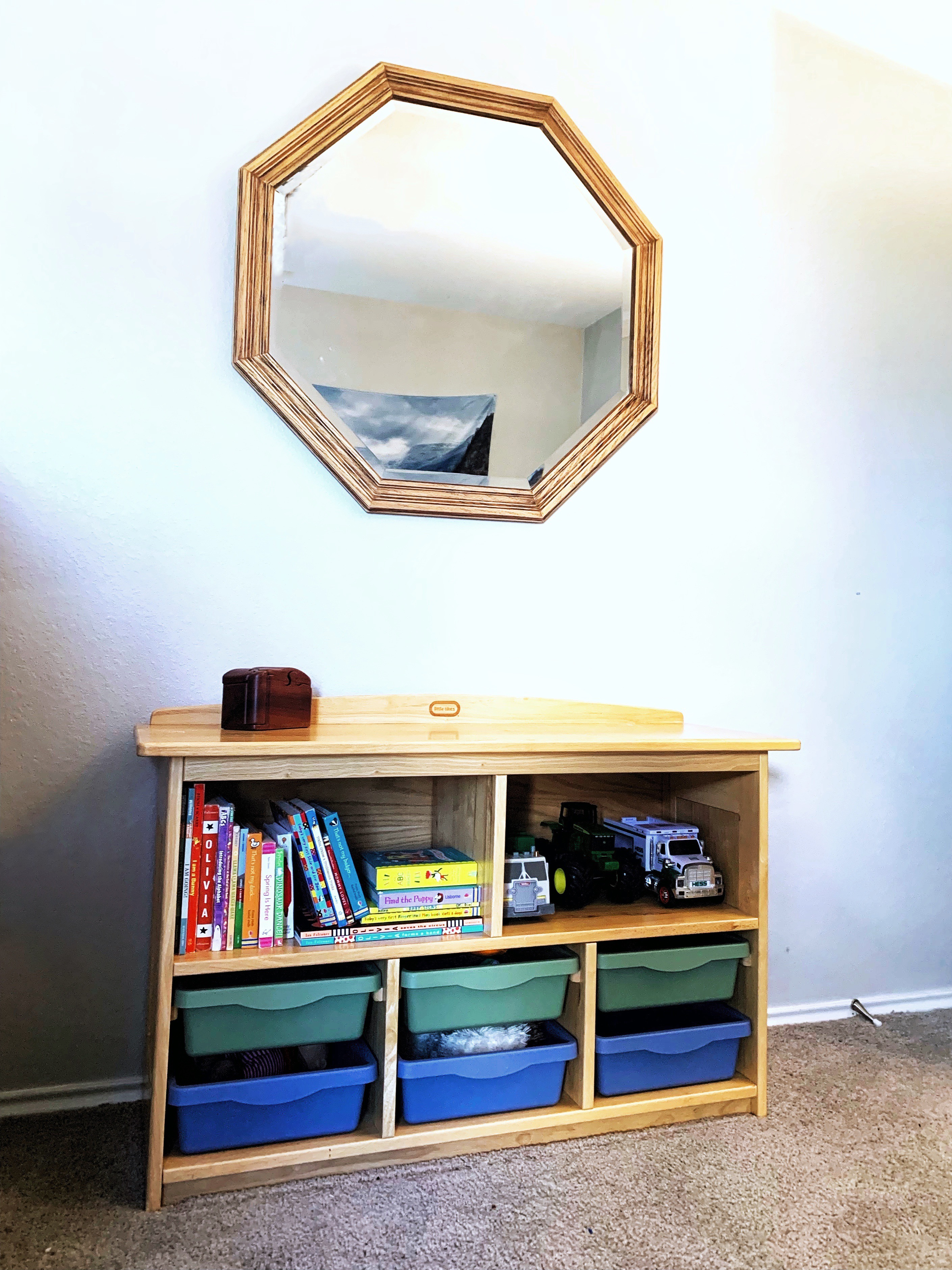 Room For Adventure | A Shared Boys Room With Thrifted Finds | JillKrause.com