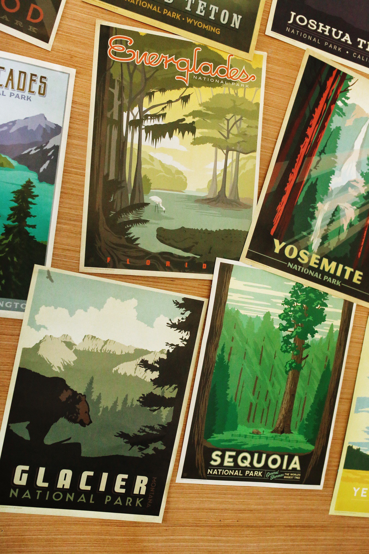 Camping room posters for cheap! JillKrause.com