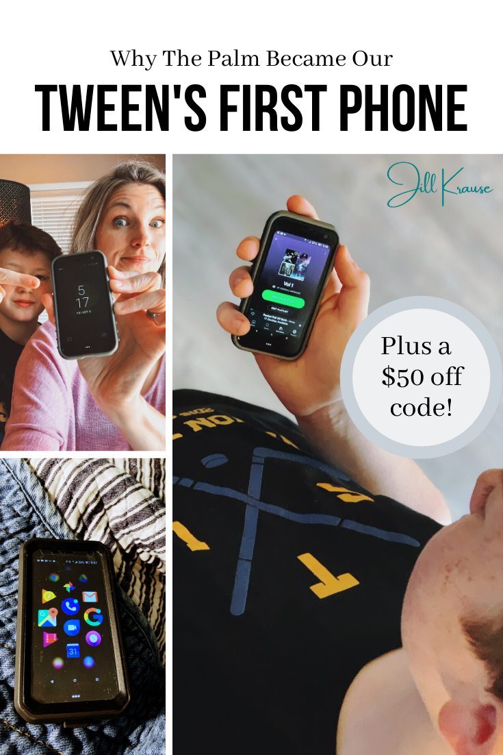 Palm Phone As Tween's First Phone | JillKrause.com