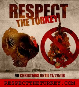 respect the turkey | JillKrause.com